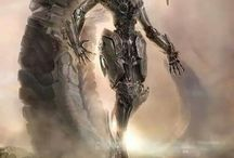 Mecha, Robots and Giant Robots
