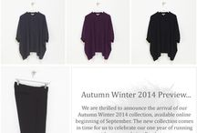 AW14 Collection / AW14 Collection available to purchase online at the beginning of September.