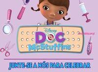 decoração doutora brinquedo