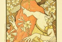 Vintage and Art Nouveau Posters / A selection of our vintage Art Nouveau posters available in our Leeds store and online at www.onthewall.com