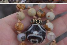 Mala beads - my work / Mala beads for sale - mala beads necklace, mala bracelets.  Mala beads to sale, mala beads made to order.