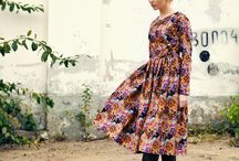 Last Autumn AvA LookBook Fall '13 / ava coats avadresses avaskirts