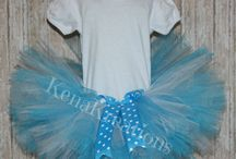 Tutus / Custom made tutu.  You choose the colors! / by KenaKreations Edwards