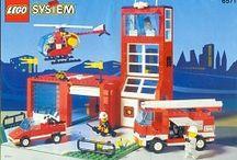 """Lego town / Wybrane zestawy klocków lego, które będzie można podziwiać od lipca 2015 na wystawie z klocków lego """"Łebskie Klocki"""". Wystawa odbędzie się na północy Polski (Łeba, ul Leśna 3)"""
