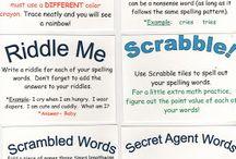 Spelling / by Danielle Bolme