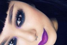 daily makeup inspiration- colorful & dramatic