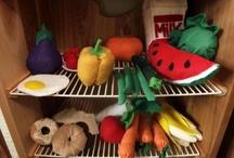 Feltro, costuras e afins / Seleção de comidas em feltro que quero fazer.