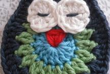 crochet owl with pattern,freebie
