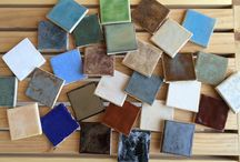 Terra/Domus Glazes / Glaze options we offer for our tile and pottery