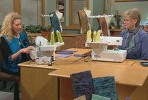 SERGER TECHNIQUES (sew with Nancy)