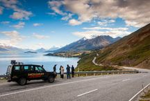 Road Trippin' / Fancy a road trip to escape and unwind? Have a look at some of the world's most beautiful open roads to travel along, and see which one tickles your fancy. Without fail, any one of these journeys will provide you with picture memories to treasure forever.