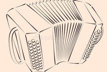 concertina vetor
