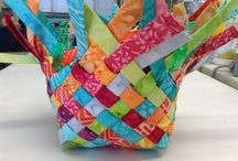 Bags from scrap fabric