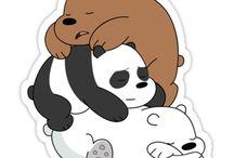 panda stiker
