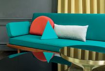 Angel / This small plain ottoman is very durable and offers an irrestible range of 37 colors.