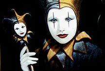 HARLEQUIN & JESTER / Harlequin and Jesters