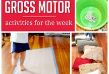Motor skills / Fine and Gross motor activities.