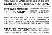 My favorite quotes