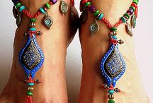 hippies Vintage Jewellery foot & body