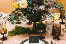 Industrial Boho Wedding / Wedding Decor