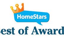 Best of 2013 Hamilton Award Winner for Bathroom Renovation / We are delighted to announce that our company, domilya GROUP has just won a HomeStars 'Best of 2013' Award! This coveted award goes to the one company in each category in our city that earned the highest reputation ranking last year, based on thousands of reviews made by homeowners on the homestars.com website.  We invite you to see all our homeowner reviews by going to Homestars.com and then typing domilya GROUP into the search bar at the top of the page.