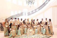 Bridesmaid groomsmen
