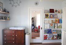Kids rooms / Behind Anniston's closet door, in niche in Dell's closet?  / by Alisha Nichols
