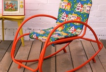 Retro/vintage childrens room