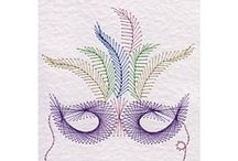 Stitching cards