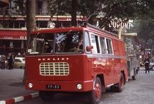 strażackie furgony