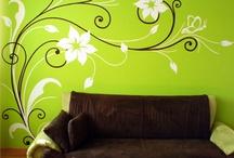 malby zdí a šablony