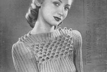 Knit it - Vintage / Patterns from the past
