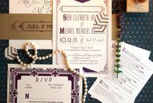 Wedding {Art Deco}