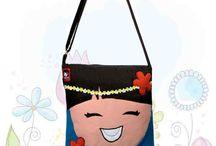 Koleksi Tas Handmade Lucu & Unik / Gudang nya tas handmade.....dengan aplikasi yang beragam.