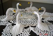 Cygnes crochet