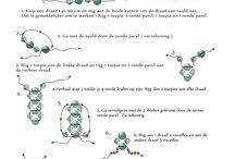 Branzoletki z koralikow - schematy