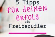 Freelancer & Freiberufler / Tipps zur Selbstständigkeit I Freelance Business I Freiberufler Business I Kundenakquise I Aufträge bekommen I Kunden I Zielgruppe