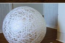 Lamp touw zelf maken