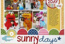 Scrapbook- Sesame Street / by Dawn Newsom