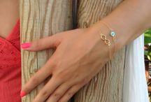 evil eye bracelet / evil eye bracelets made of 925 sterling silver and semi precious stones