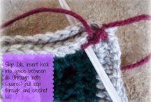 Crochet joining methods
