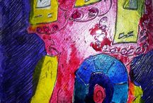 Children's Art - Mixed Media