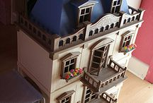 Casas de Bonecas e Decorativas / Algumas Casas de Bonecas para brincar ou Decorar um ambiente.