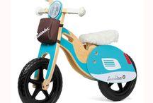 jouet bois tricicle et velo