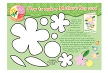 Mother's Day / A range of activities and crafts to help children celebrate Mother's Day! Visit iChild.co.uk for thousands more themed activities for children aged 0 - 11 years. / by iChild.co.uk