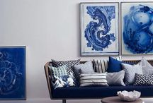 Blue Home & Decor / Get tips on blue home decor with these great blue room ideas for decorating with blue.