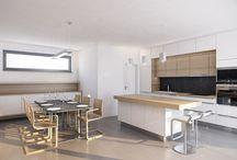 Návrh interiéru rodinného domu v Lužicích / V rámci zpracování studie rodinného domu jsme investorovi navrhli i interiér.