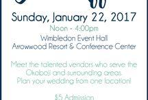 Okoboji Weddings Bridal Affair / A small collection of ideas and things from Okoboji Weddings Bridal Affair.