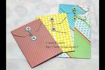 Envelope punch board / Envelope punch board tutorial