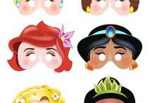 Mascaras / Princesas